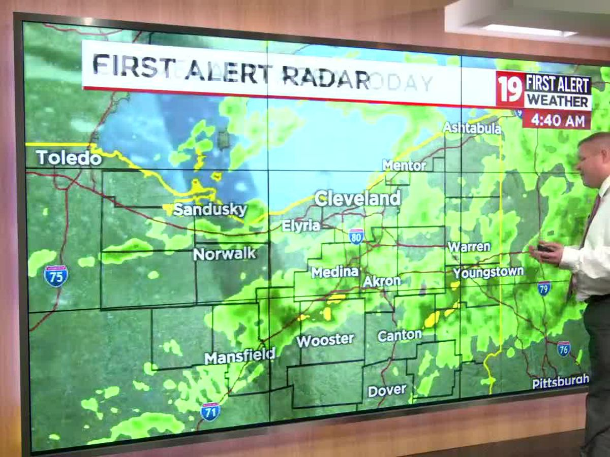 Northeast Ohio Weather: Another damp day; temperatures in the 50s