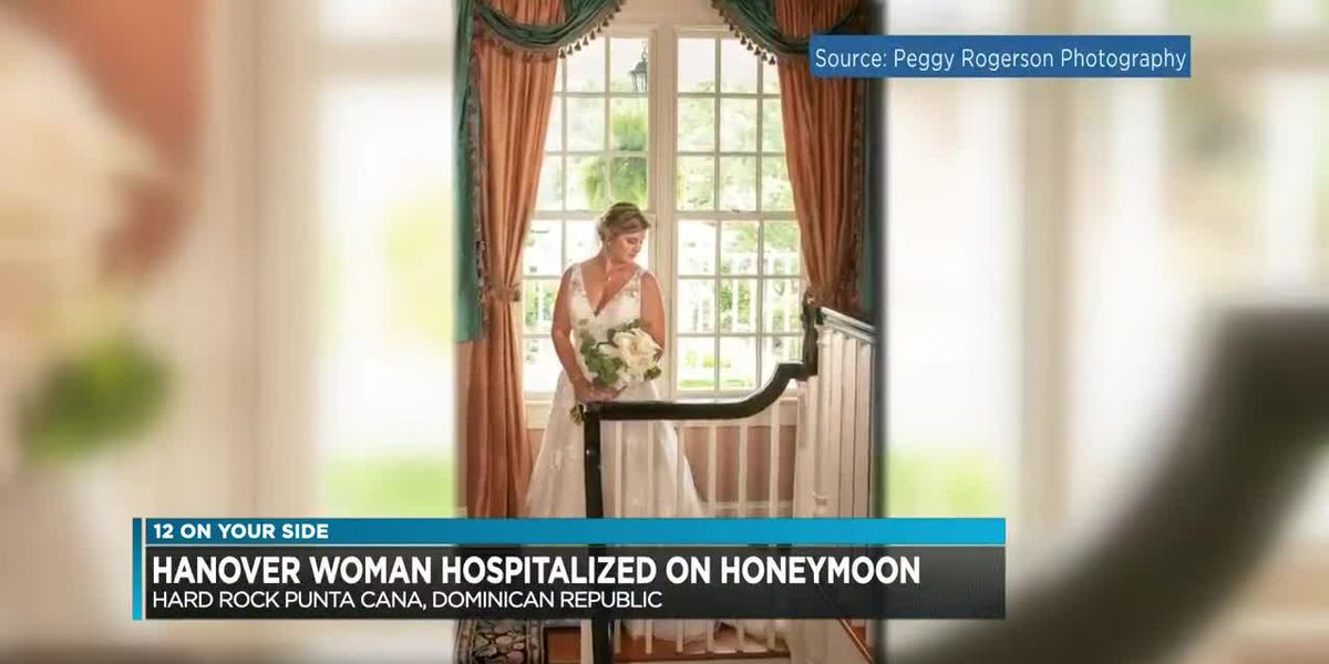 Central Va. woman hospitalized in Dominican Republic on honeymoon