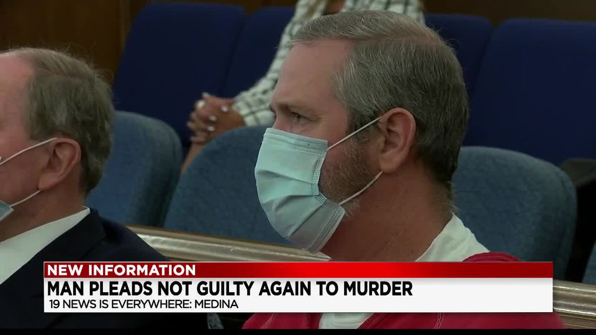 Medina man accused of killing wife and mother-in-law pleads not guilty again in court