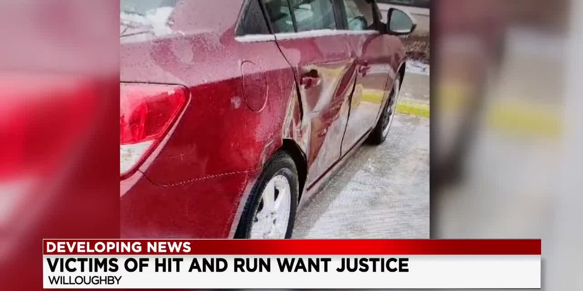 Victims of hit-and-run crash want justice for driver who fled in Willoughby