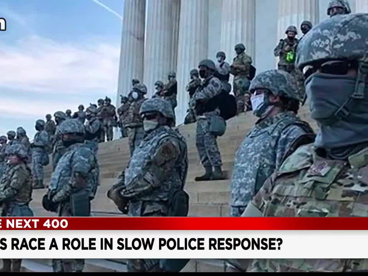 Was race a factor in how authorities handled Wednesday's breach at the U.S. Capitol?