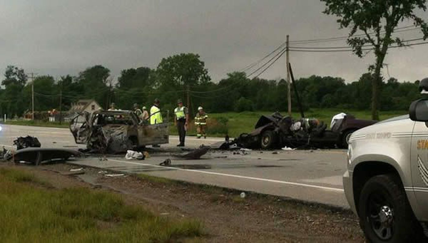 Alcohol Suspected: One killed, two injured in head-on crash