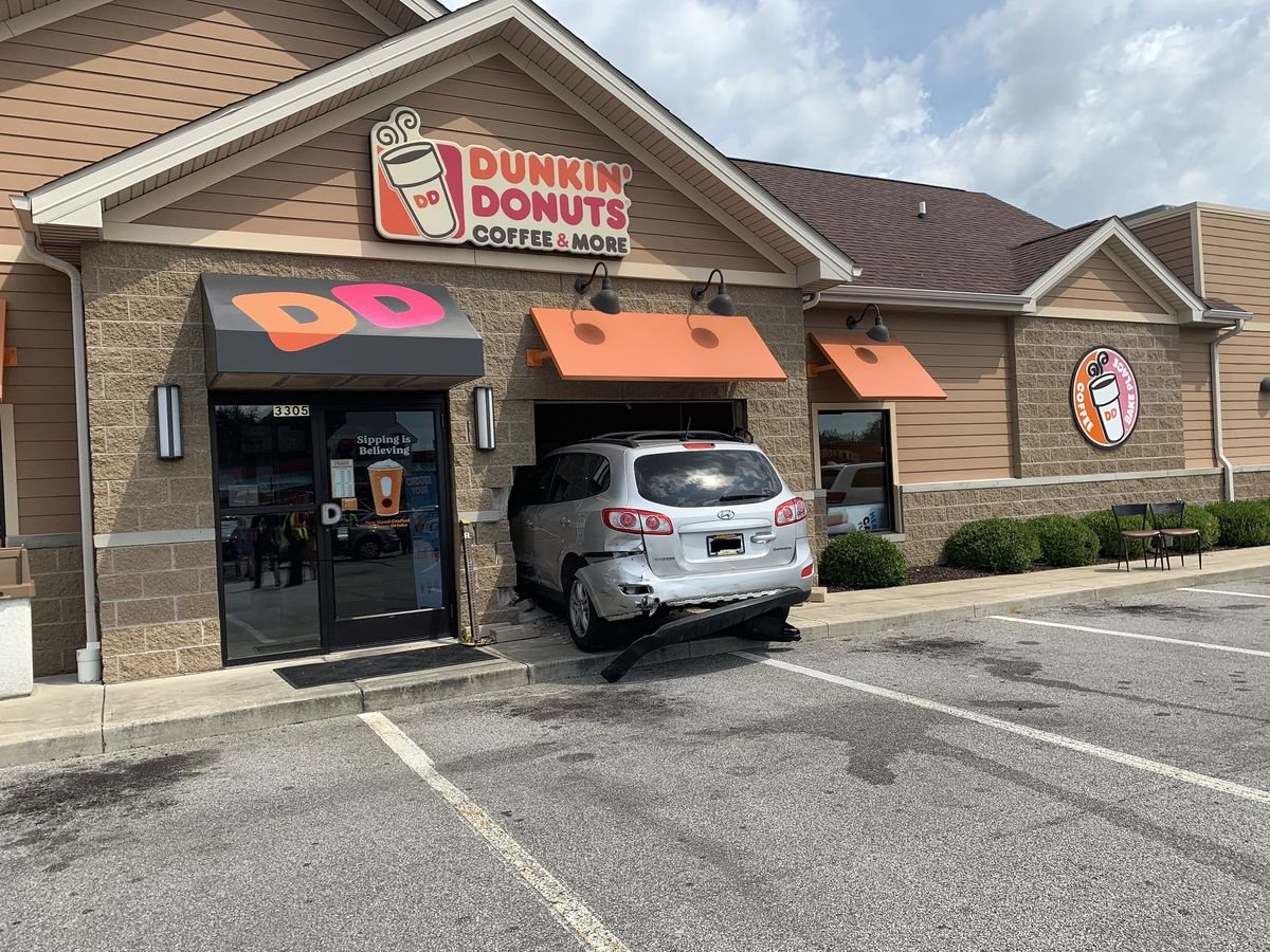 70-year-old man who struck pedestrian and crashed into Dunkin Donuts was under the influence