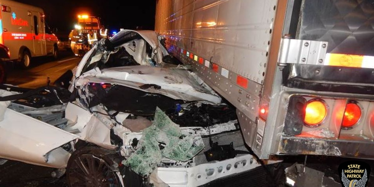 Driver critical after being 'crushed' by 2 semis in Ohio Turnpike accident