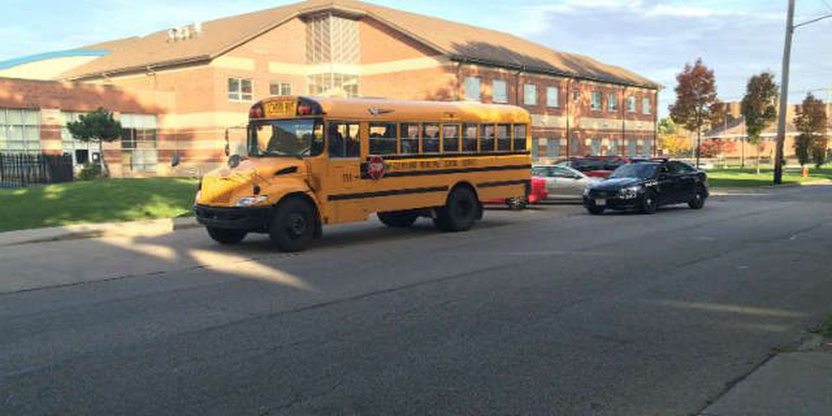 Investigation: School bus window busted out