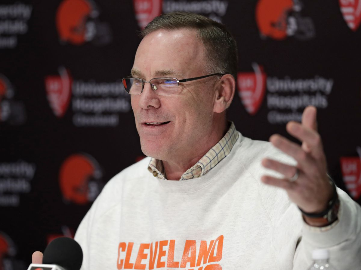 John Dorsey is looking for a head coach with high football acumen, man or woman