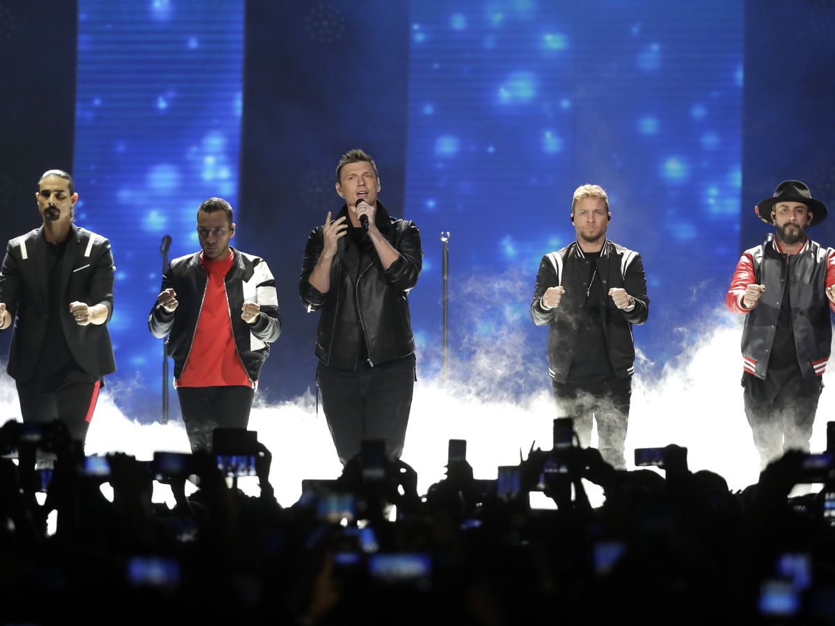 Backstreet Boys reunite for 2020 world tour concert stop at Blossom Music Center