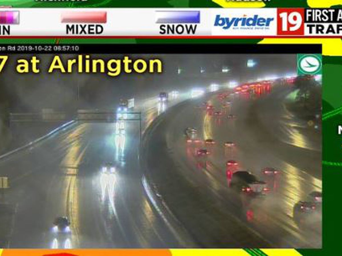 Commuter Cast: Wet roads causing issues for morning drivers