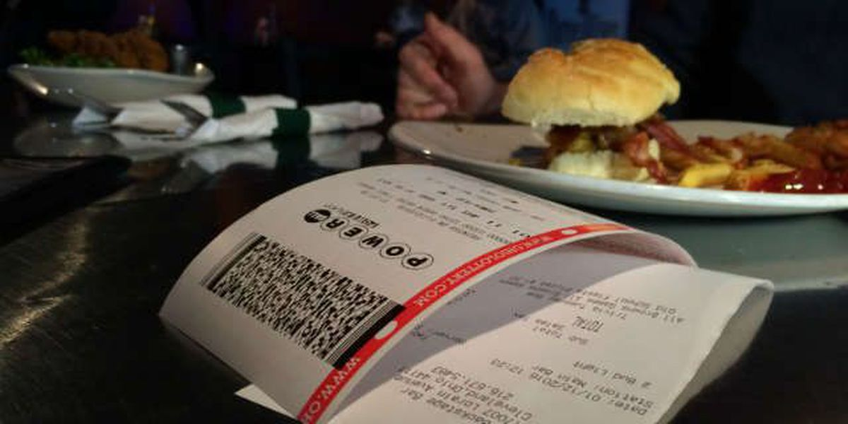 Back Stage Bar giving away Powerball tickets with meals