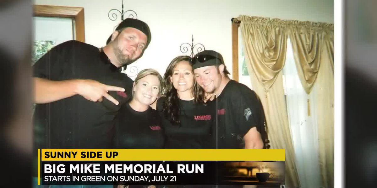 Big Mike Memorial Run stresses the idea of organ donation