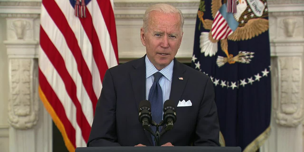 Biden delivers remarks on American Jobs Plan