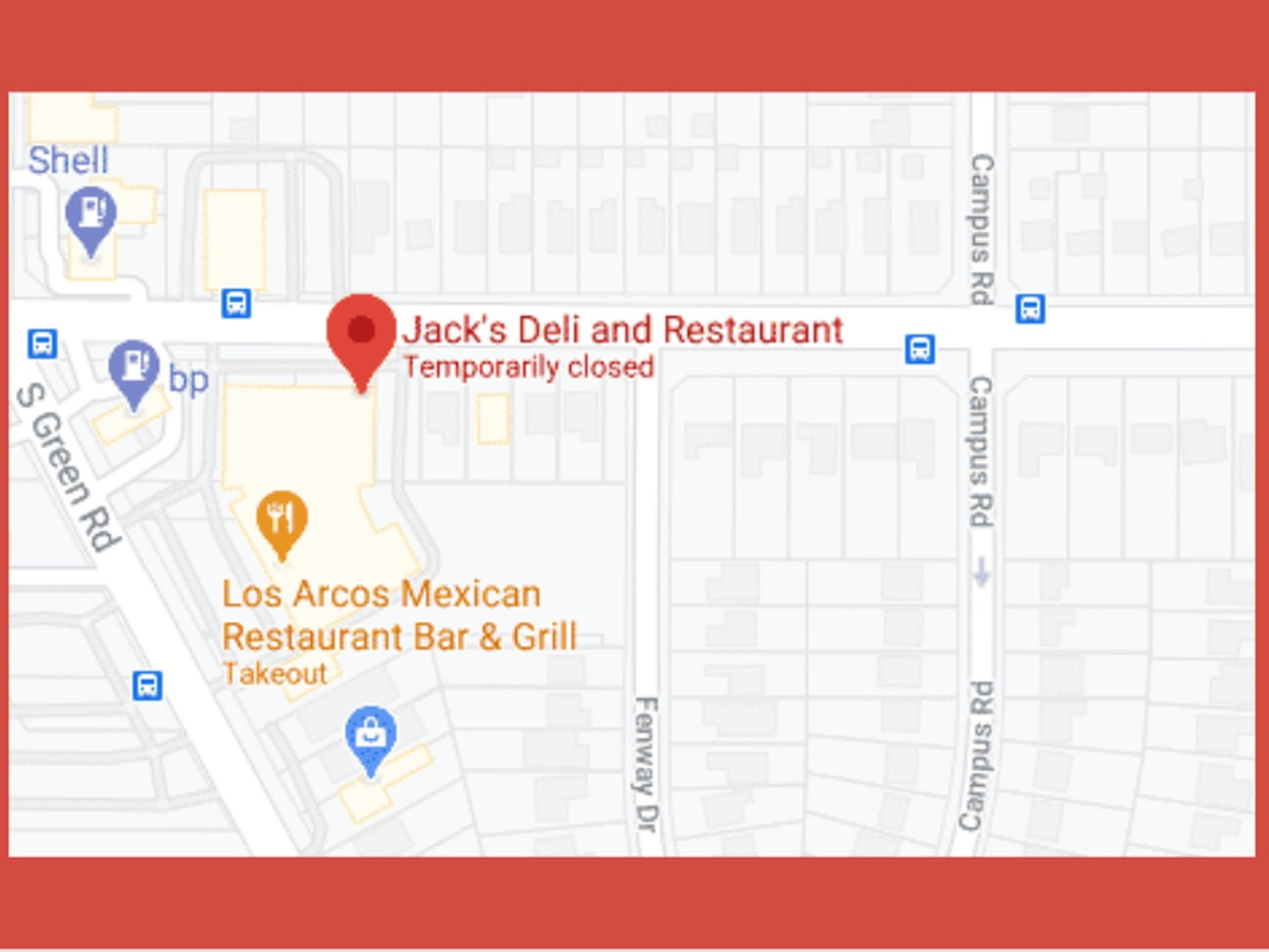 Jack's Deli and Restaurant temporarily closes due to COVID-19 positive employee