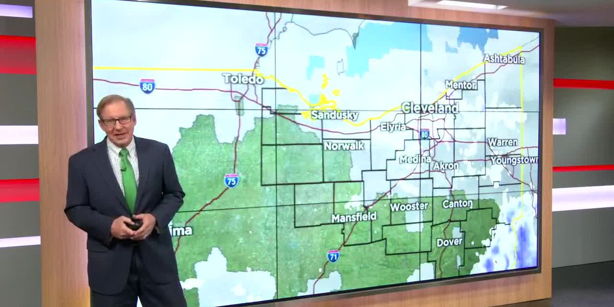Northeast Ohio weather: Scattered snow showers continue Sunday
