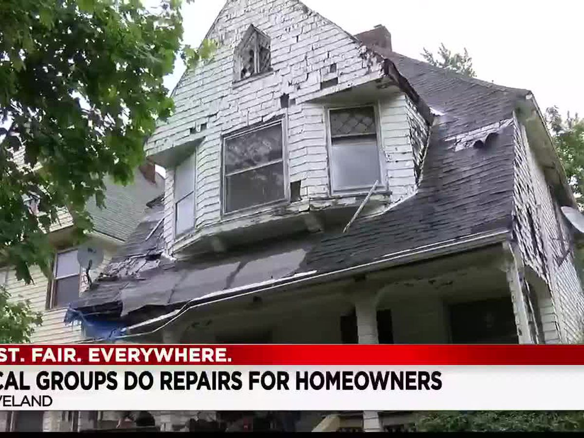 Rebuilding Together Northeast Ohio gives homes in Cleveland's Hough Neighborhood some much needed repairs
