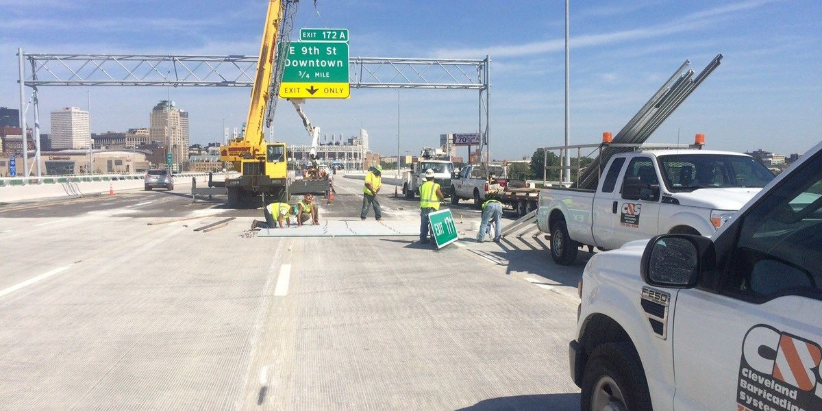 All lanes of Innerbelt Bridge now open