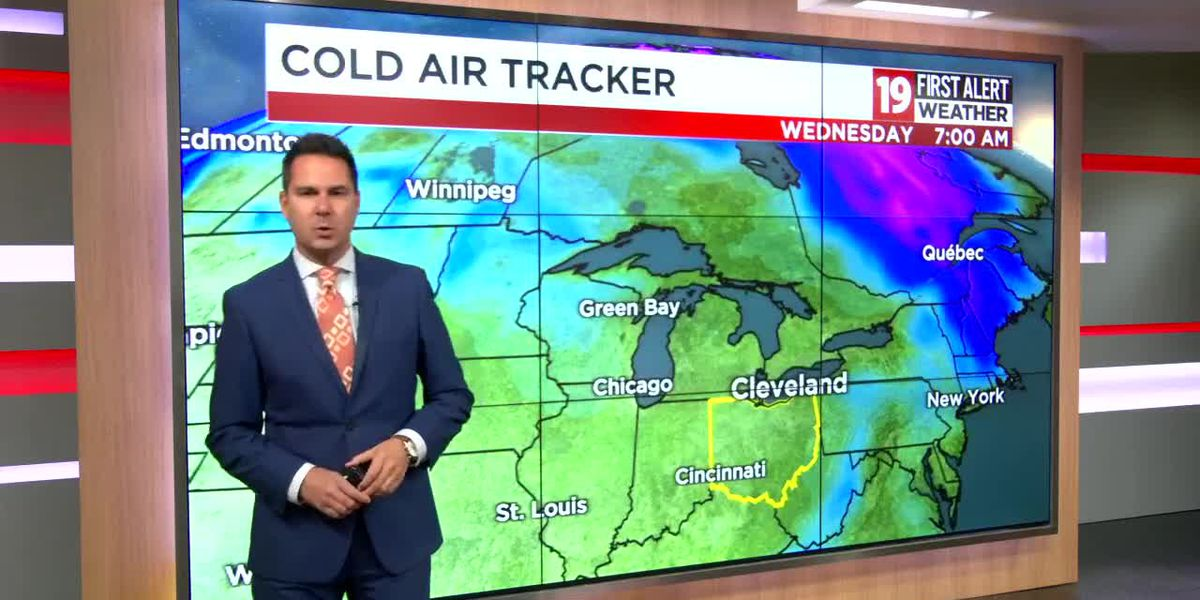 Northeast Ohio weather: A few lake effect snow showers overnight
