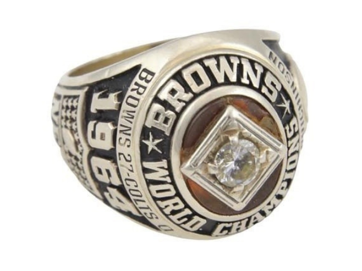 Cleveland Browns 1964 championship ring hits the auction block