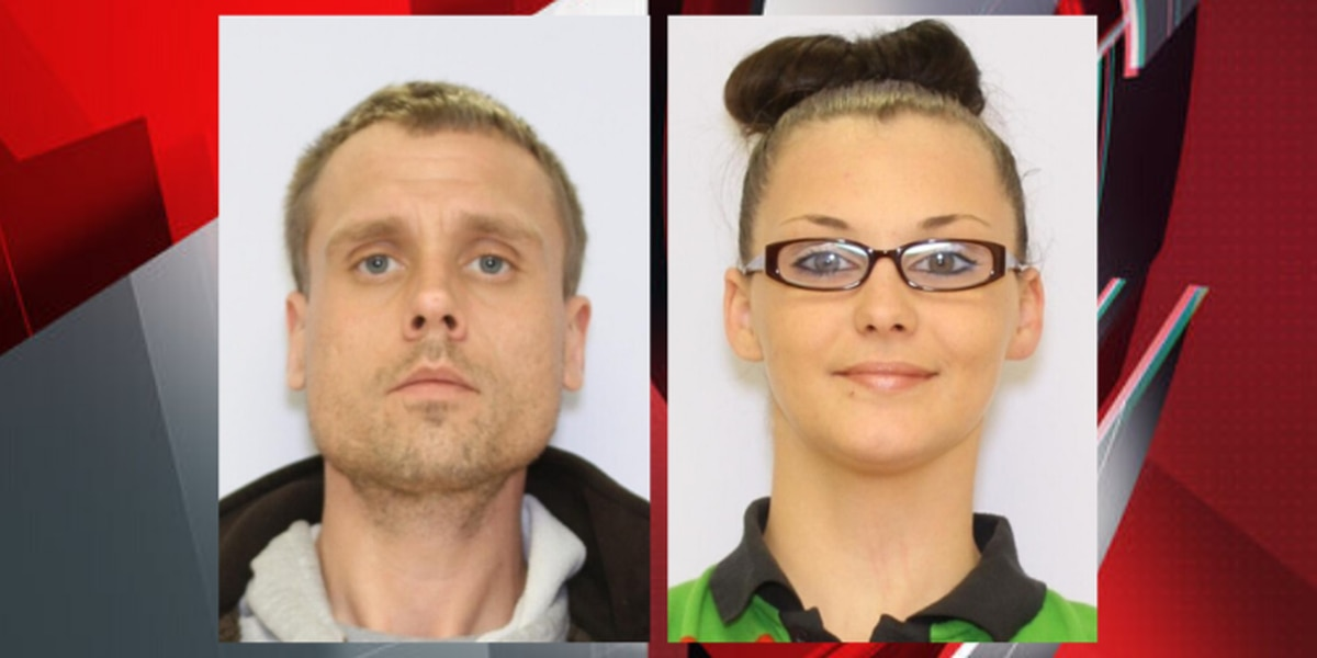 Couple wanted for robbing 2 businesses at gunpoint arrested after Lake County chase