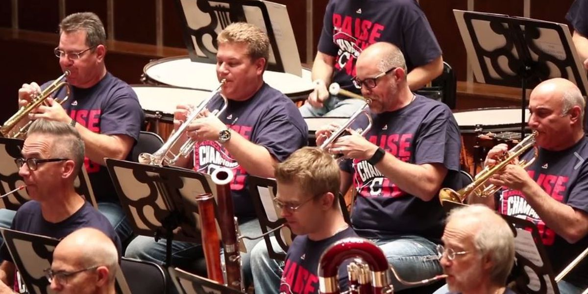 Cleveland Orchestra channels Superman to wish Indians good luck in World Series