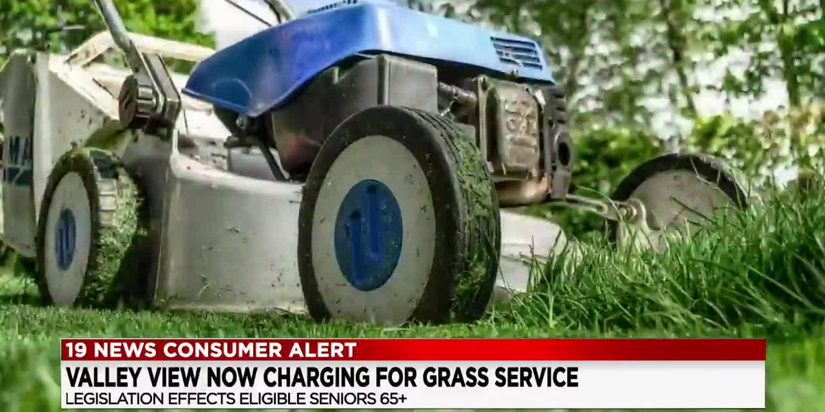 Valley View now charging $100 for senior grass cutting program that was once free