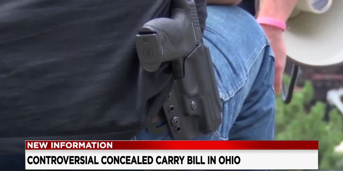 House Bill 178 would eliminate the need for a permit to carry a gun in Ohio