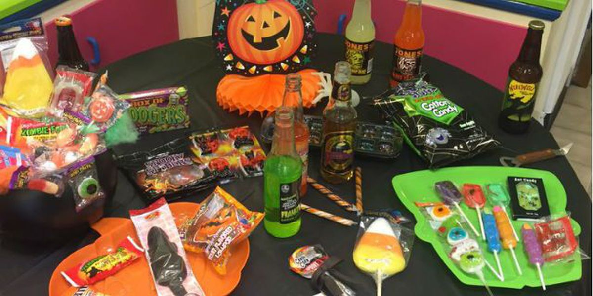 Tastee Treats Sweet Shop, new twist on Halloween