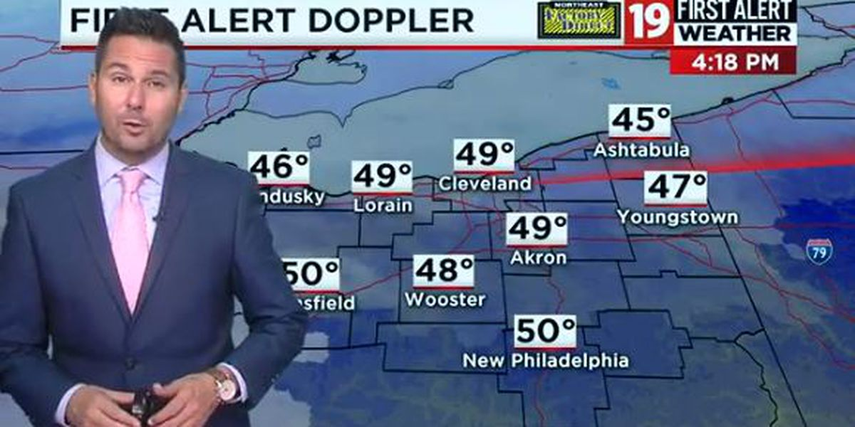 19 First Alert Weather Day: Wintry mix of rain, snow approaches Thursday