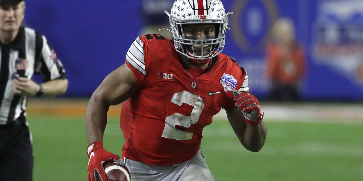 J.K. Dobbins leaving Ohio State Buckeyes, entering 2020 NFL Draft