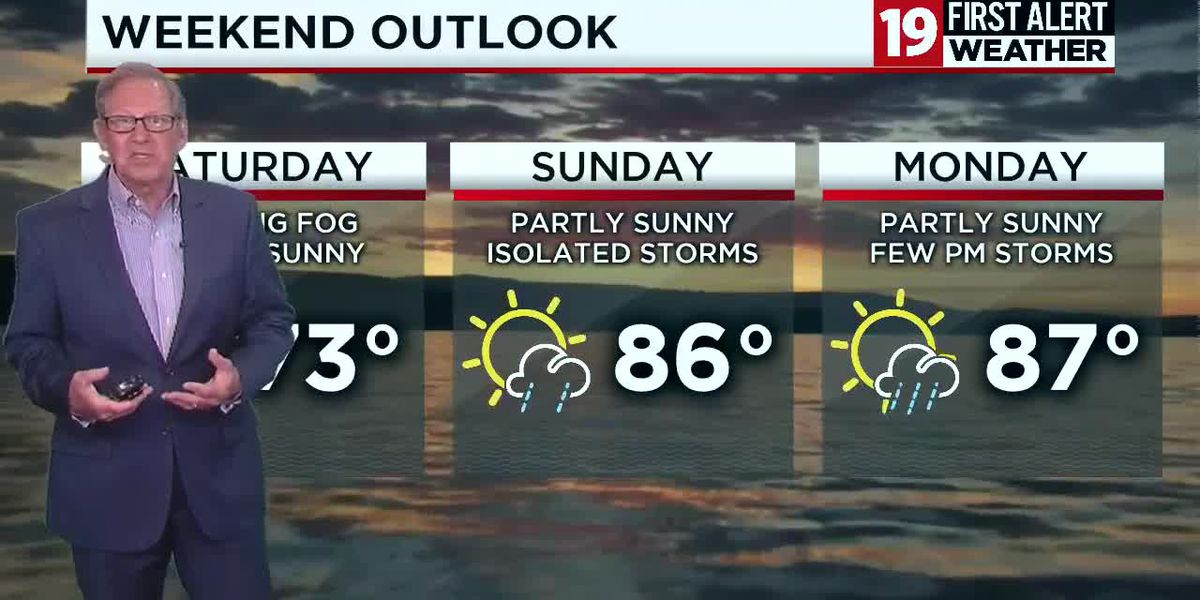 Northeast Ohio weather: partly sunny today, hot and humid through Memorial Day