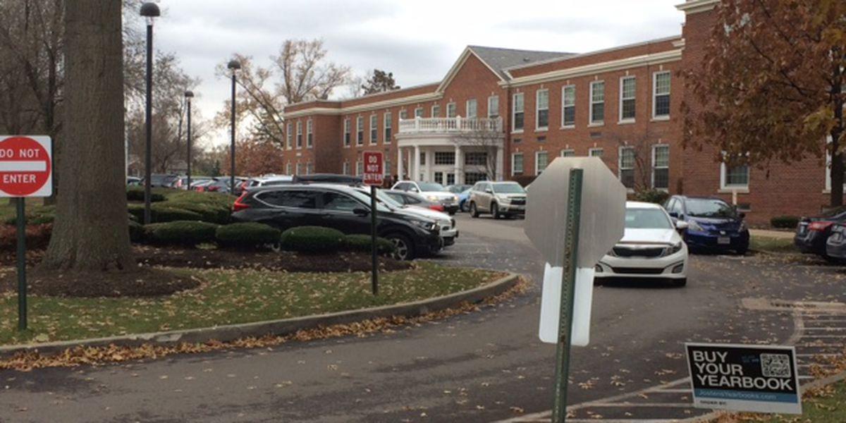 Shaker High School under lock down Friday