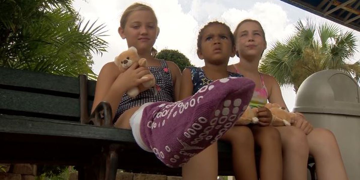 9-year-old Canton girl bitten by shark at Florida beach infamous for being in world's capital for shark bites