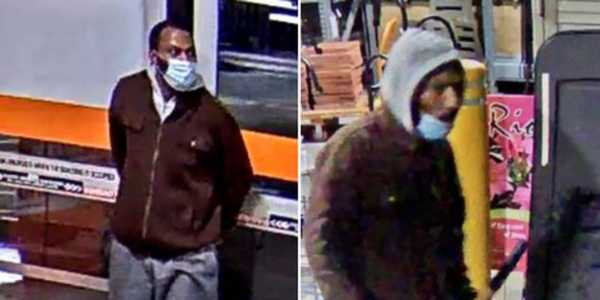 Euclid Police search for suspected Home Depot shoplifter