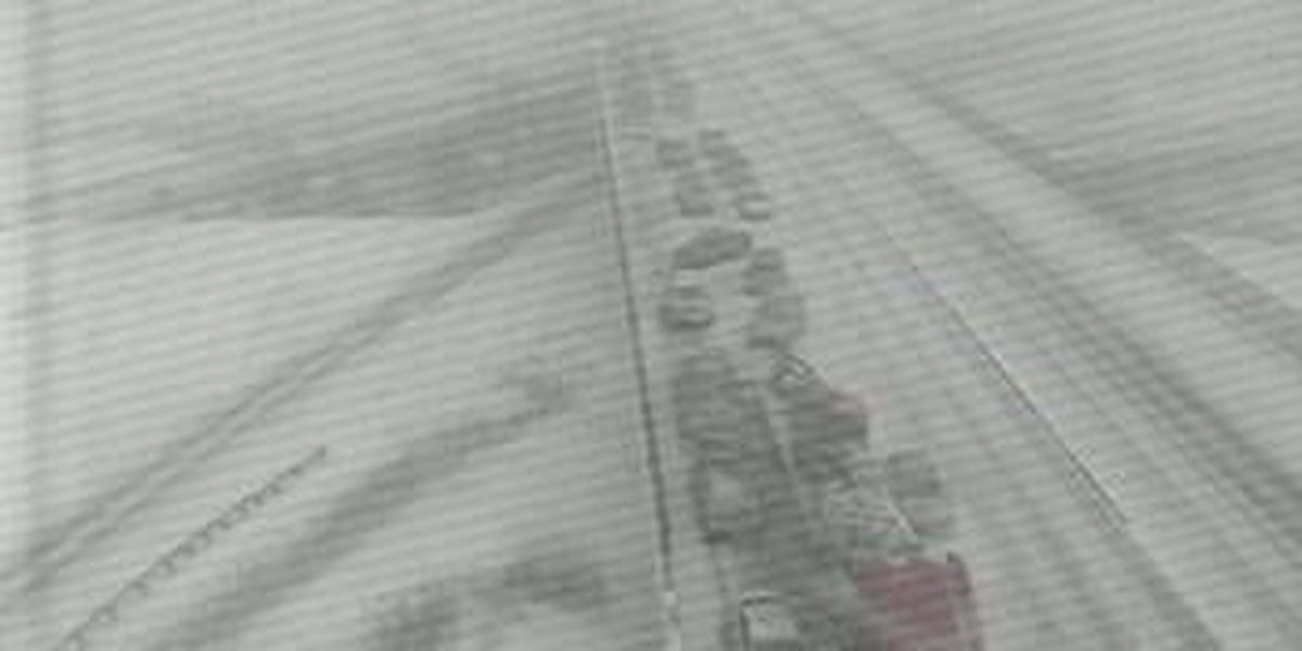Pileups and multiple accidents caused by bad road conditions