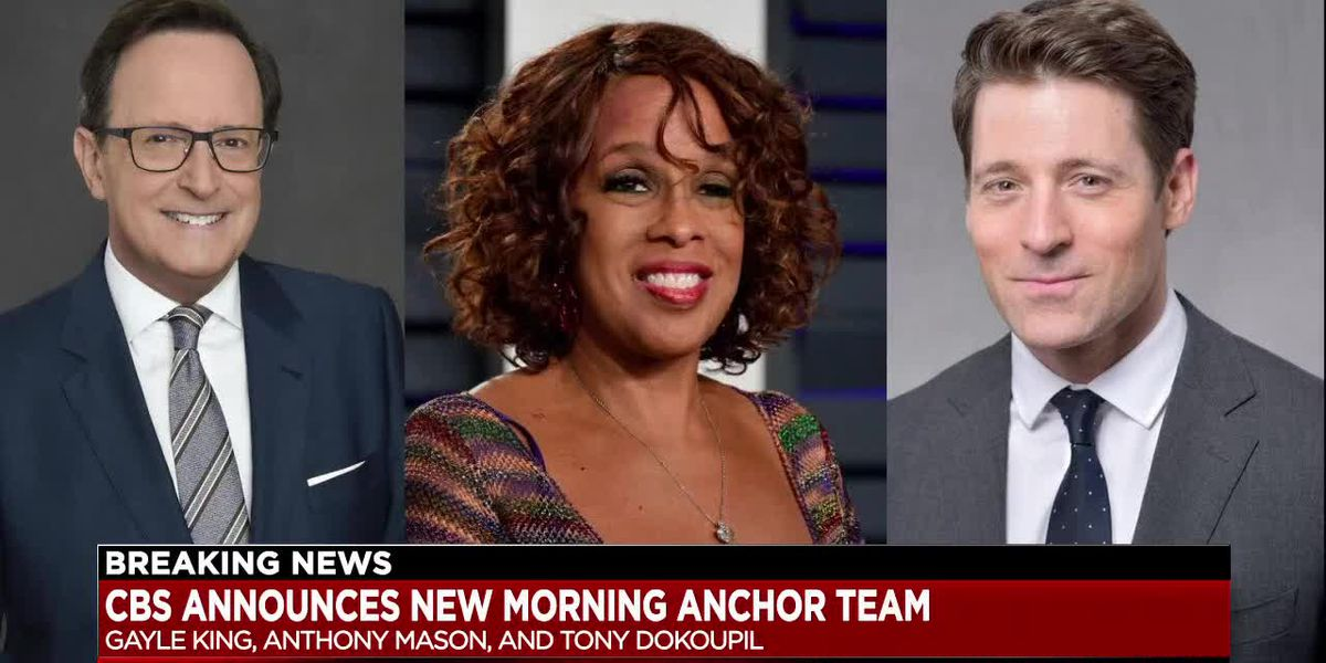 Gayle King, Anthony Mason and Tony Dokoupil to Co-Host 'CBS This Morning'