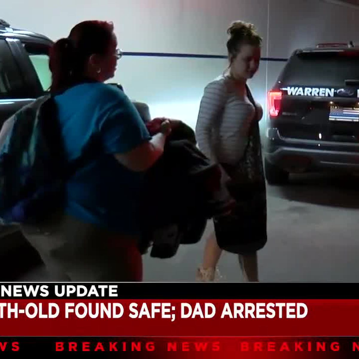 Amber Alert father found after state wide search
