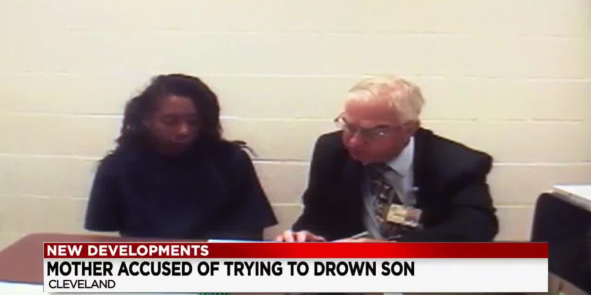 $100,000 bond for Cleveland mom accused of trying to drown son