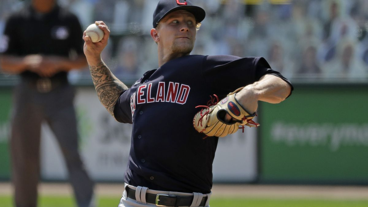 Cleveland Indians send Zach Plesac to Cleveland after violating team's rules and leagues health and safety protocols