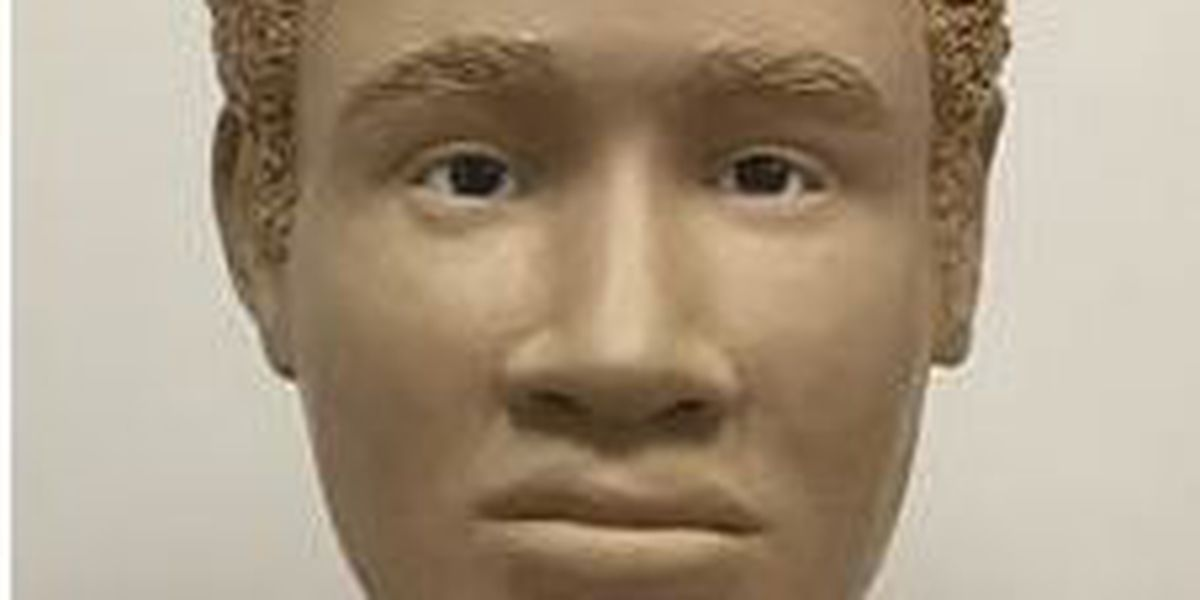 Forensic artist creates clay model of unidentified man found dead in 1982