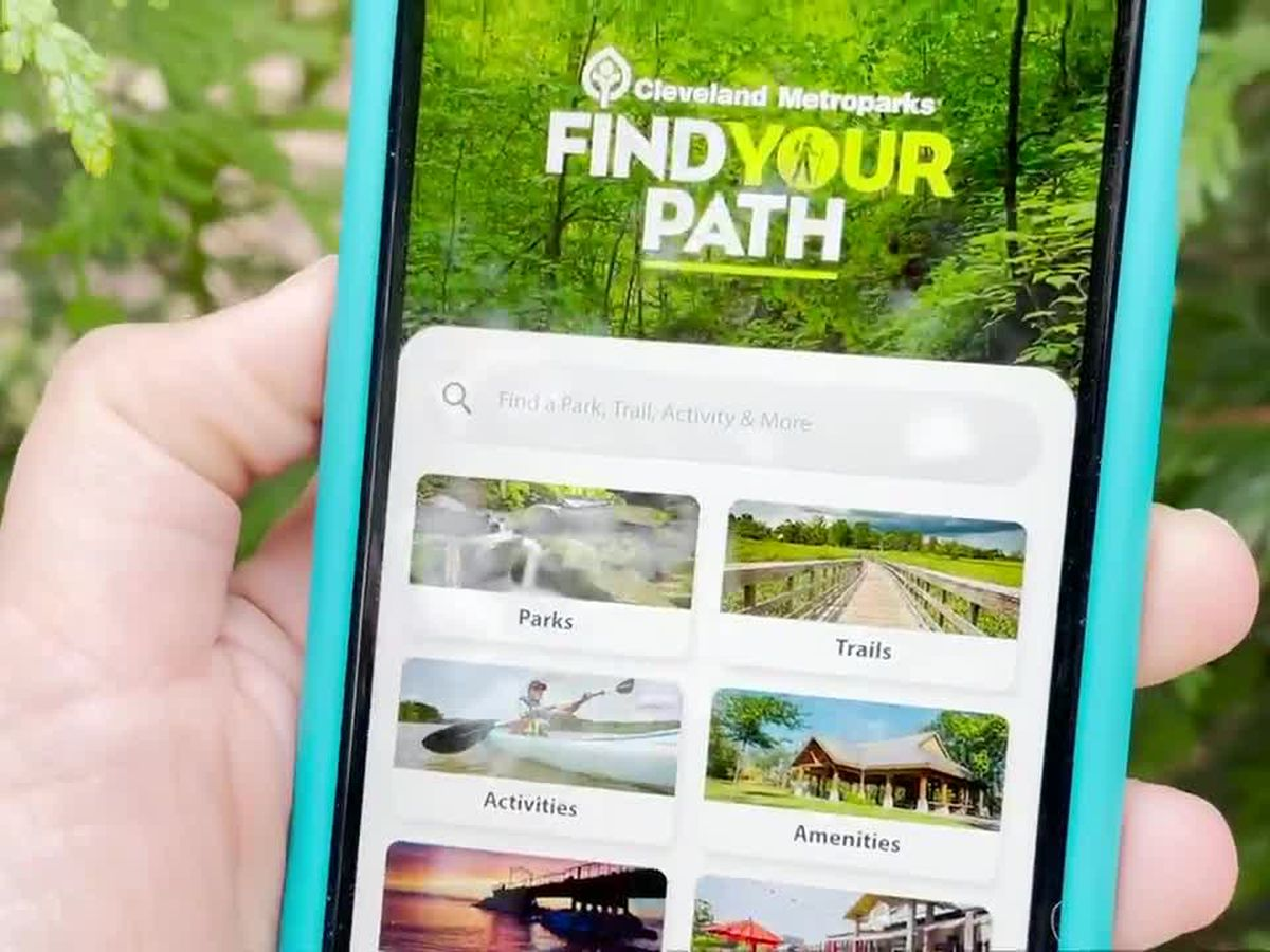 Cleveland Metroparks launches new app to help you find trails, hidden gems and more
