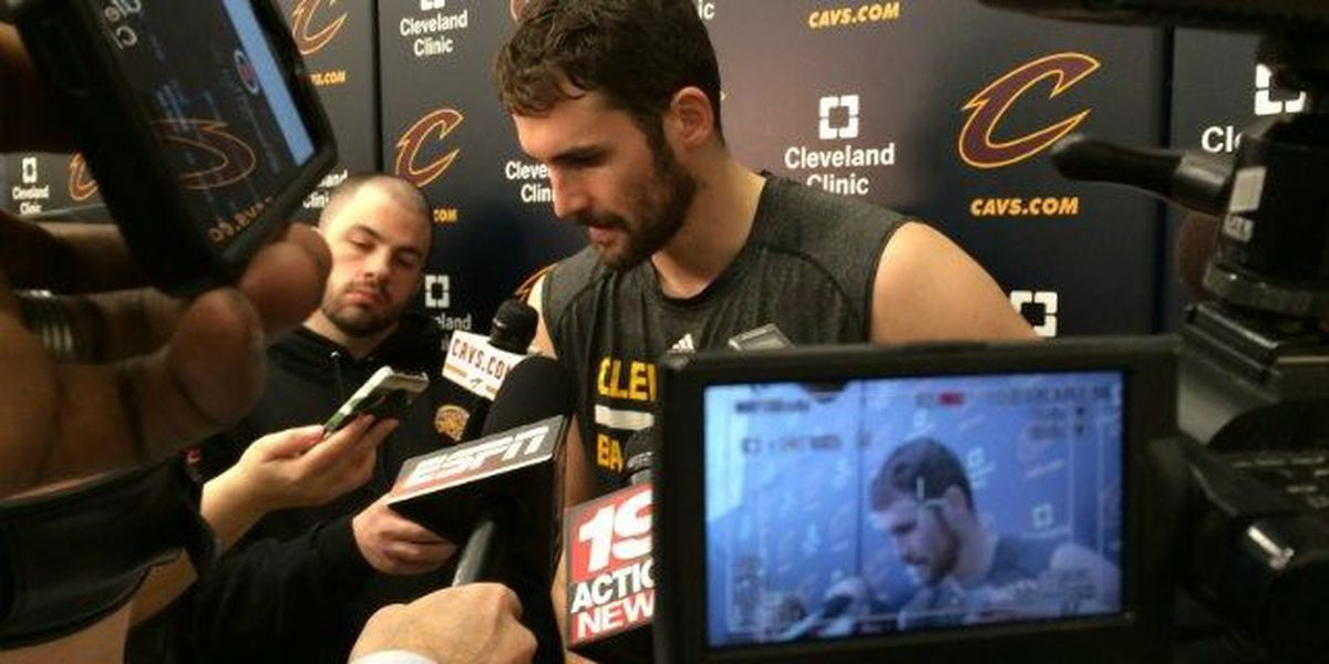 VIDEO: Kevin Love celebrates 'Stone-Cold' style