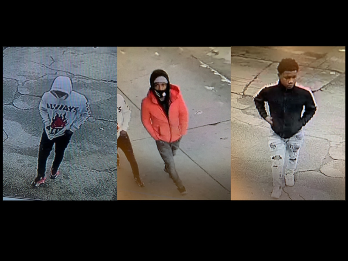 3 wanted for robbing 72-year-old man at gunpoint of his car and his and his wife's credit cards, police say