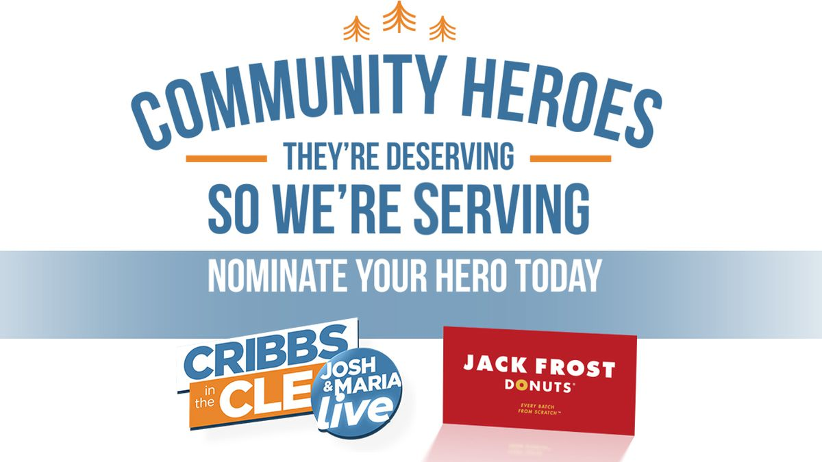 Cribbs in the CLE Community Heroes