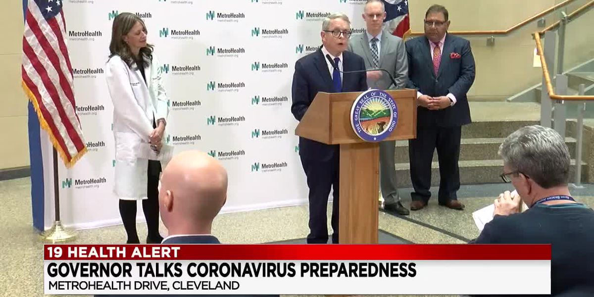 Gov. DeWine issues new orders to Ohioans to help limit potential spread of coronavirus