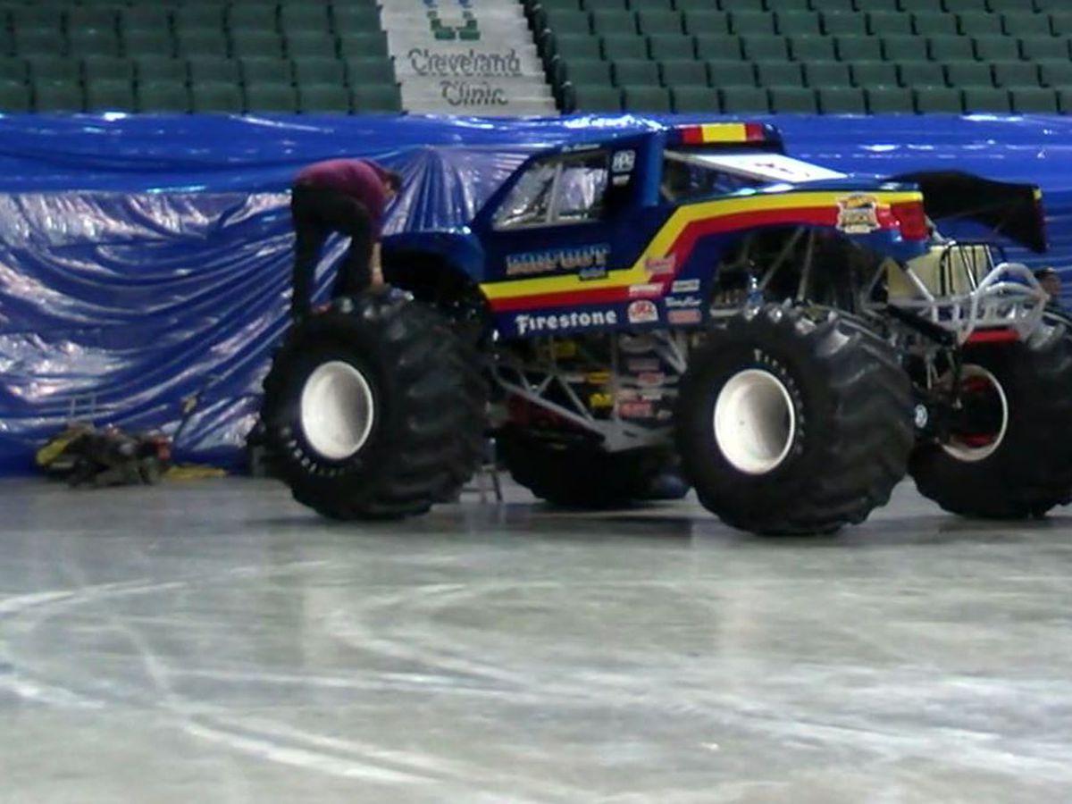 Hot Wheels Monster Trucks drive into Cleveland, return of 'Big Foot'