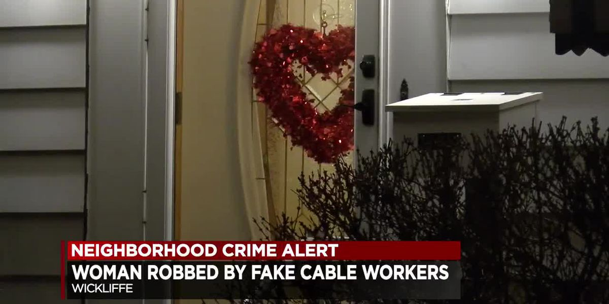 Home invaders posing as cable workers rob 86-year-old Wickliffe woman
