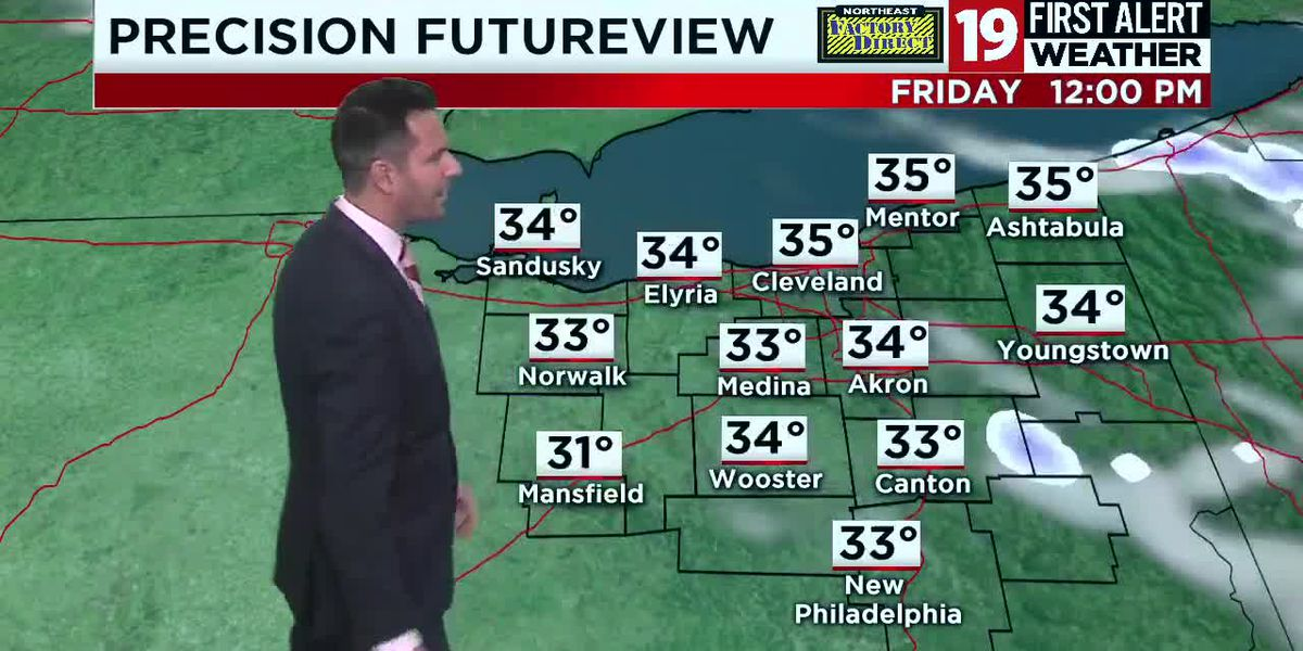 19 First Alert Weather Day: Wintry mix of rain, snow and cold Thursday