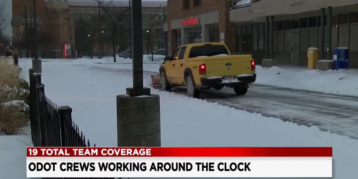 After snowstorm, ODOT and other cleaners help keep streets safe