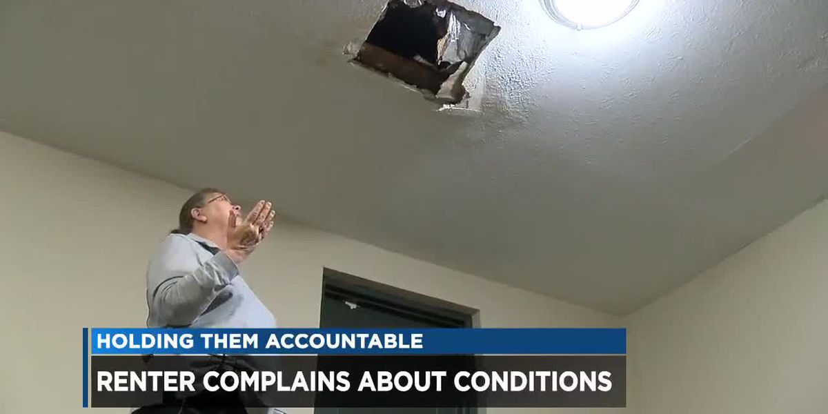 Richmond Heights apartment residents face collapsing ceilings, unsightly water leaks