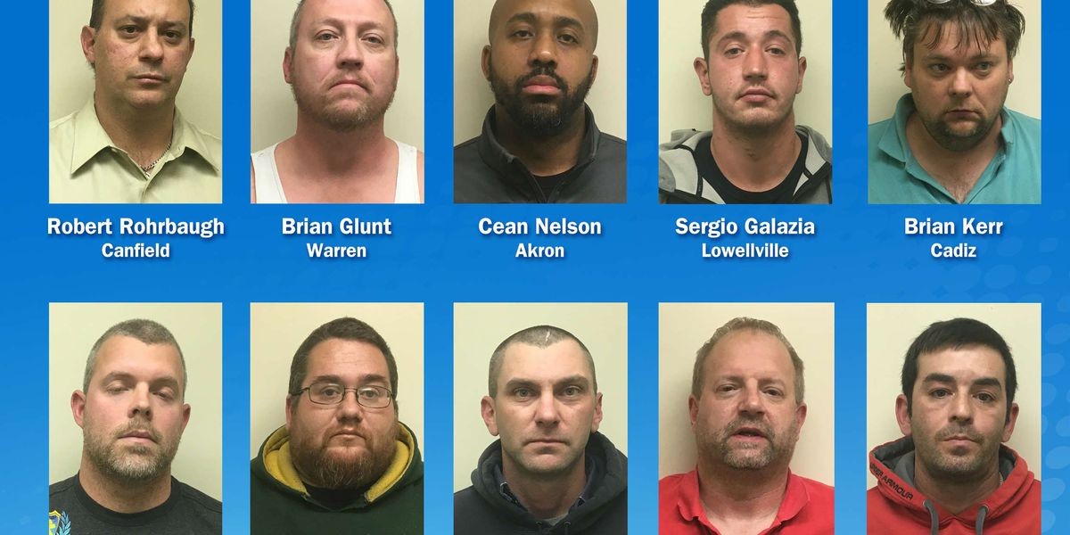 Undercover sex operation leads to 10 arrests