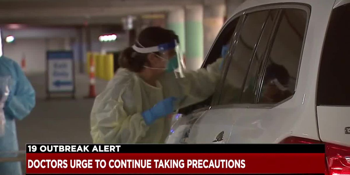 Cleveland Clinic physician says hospitals might not reach capacity if we continue taking precautions